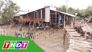 Kiên Giang: Công bố tình trạng sạt lở đê biển nghiêm trọng | THDT