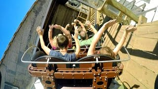 Switchback rear seat on-ride HD POV @60fps ZDT's Amusement Park