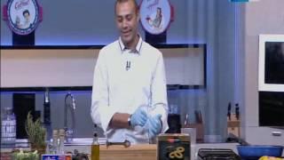 لقمة هنية : طريقة عمل ستيك بصوص البصل - مكرونة بالبلونيز صوص - شوربة بروكلي بالكريمة