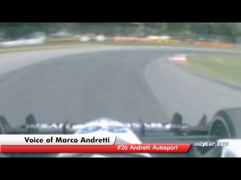 Marco Andretti Lap of Mid-Ohio Video