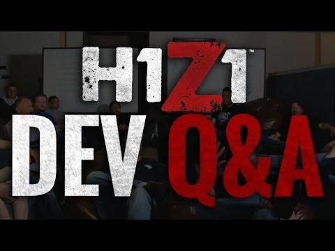 H1Z1 Developer Q&A 2/17 [Official Livestream]