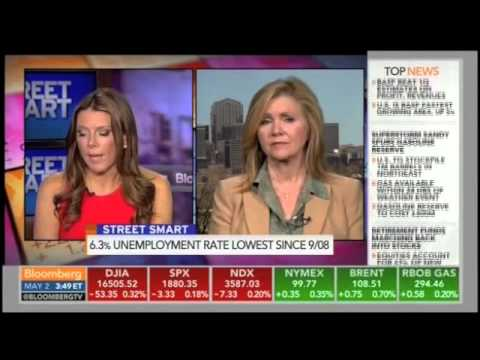 Blackburn Reacts to Latest Jobs Report on Bloomberg TV