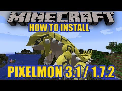 Minecraft Pixelmon 3.1.1 [1.7.2]  + HOW TO INSTALL STEP BY STEP! (pixelmon 3.1.1 mod)