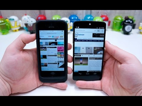 Browser Wars: Android vs iOS