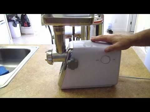 How To Make Homemade Chicken Sausage (part 1of 8) the Equipment video