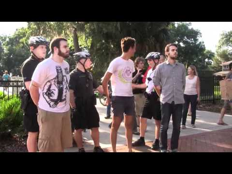Raw Video – Orlando Mayor Orders Police to Arrest 5 MORE Activist for Sharing Food w/ the Homeless