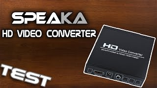 Speaka HD Video Converter - Test