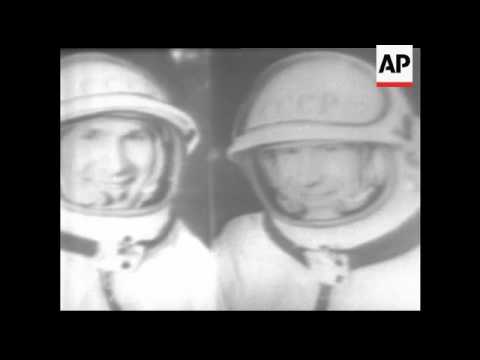 CAN470 TELERECORDING OF VOSKHOD 2 SPACE MISSION PROGRAMME