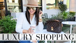 LUXURY SHOPPING VLOG - Spend the Day with me | LuxMommy