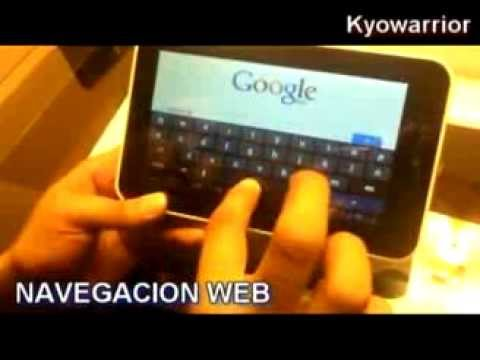 Tablet WOO   Unboxing y Review