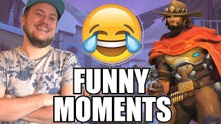 REAGERAR PÅ: FAILS & FUNNY MOMENTS! [Overwatch]