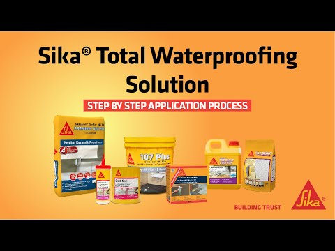 Sika® Total Waterproofing Solution thumbnail