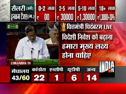The 'Budget is Here': P.Chidambaram Live !