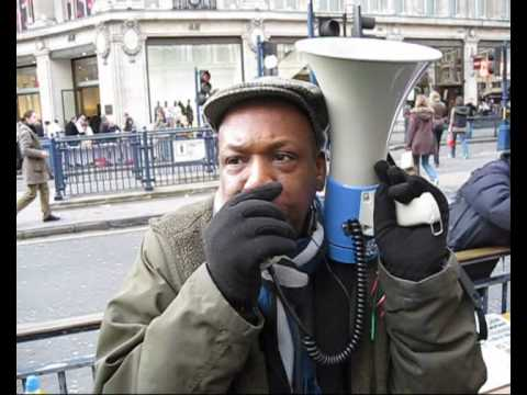 Free Speech vs. the Metropolitan Police in London UK