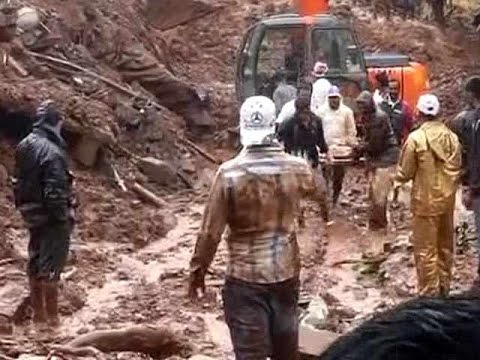 10 dead, nearly 170 trapped after landslide near Pune