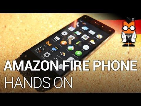 Amazon Fire Phone Hands-on - Amazon für die Hosentasche (DEUTSCH]