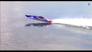 RC ADVENTURES -  Traxxas Spartan Extreme Radio Control Speed Boating