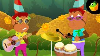 Naach Mor ka Sabko Bhata  - Hindi Animated/Cartoon Nursery Rhymes For Kids