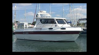 28ft fishing boat Aquafish 28 family fisher twin diesel shaft drive - GBP 65,000