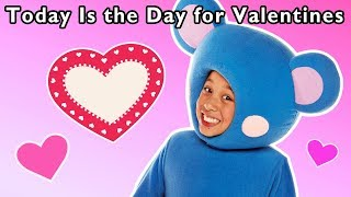 Today Is the Day for Valentines | 💕HAPPY VALENTINE'S DAY 💕| Mother Goose Club Kids Songs