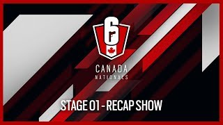 Rainbow Six Siege: Canada Nationals - Year Two | Stage 1 - Recap Show | Ubisoft [NA]