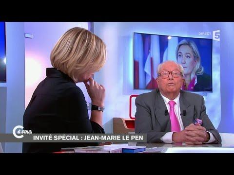 Jean-Marie Le Pen invité spécial de C à vous - 01/12/2014