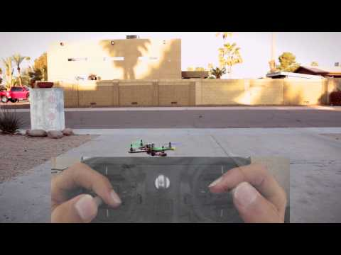How to fly a quadcopter (part 1)
