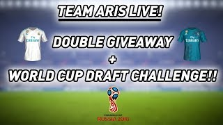 LIVE! DOUBLE GIVEAWAY + WORLD CUP DRAFT SUBSCRIBERS CHALLENGE!
