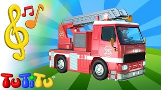 TuTiTu Toys and Songs for Children   Fire Truck