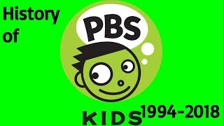 the entire history of PBS kids 1994 - 2018