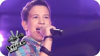 Robbie Williams - Let Me Entertain You (Eric) | The Voice Kids 2017 | Blind Auditions | SAT.1