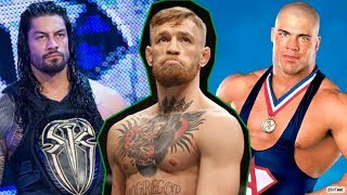 WWE Wrestlers REACT To Conor McGregor! WRESTLERS ROAST CONOR MCGREGOR!