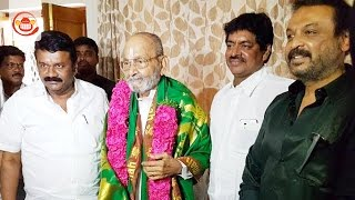 Talasani Srinivas, Naresh and Sivaji Raja meet K Vishwanath - SIllymonks Tollywood