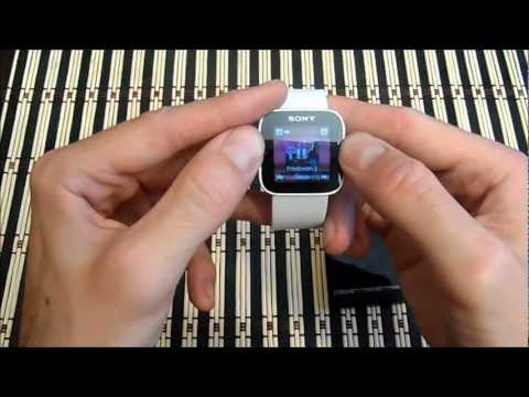 Videoreview Sony SmartWatch en Español