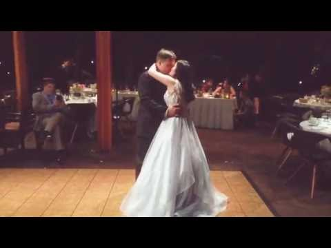 My sister's first wedding dance with her new husband (From The Ground Up)