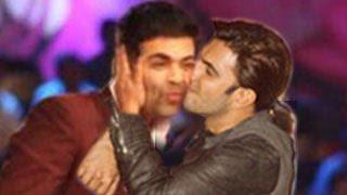 Ranveer Singh KISSES Karan Johar in PUBLIC