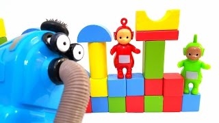 TELETUBBIES Toys and FUNNY BUILDING Blocks Creative Toys for Kids