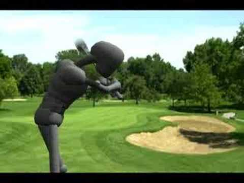 golf swing animation. Golf Swing