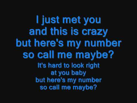 Ben Howard - Call Me Maybe Cover ( Lyrics)
