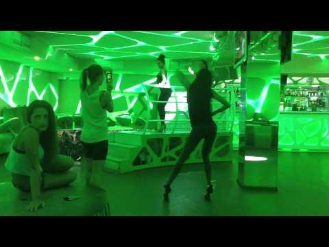 Видео репетиций Go-go PJ Dance в клубе Bionica