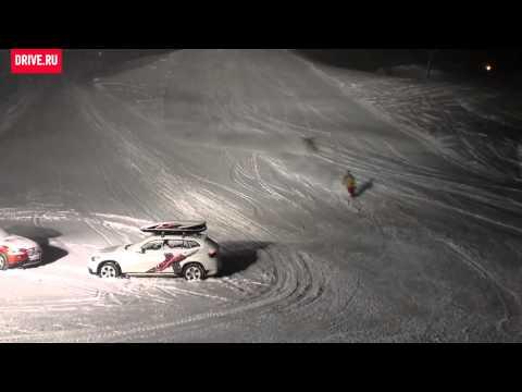 BMW X1, презентация xDrive в Альпах, 2012