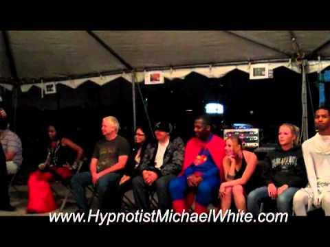 Hypnotist Michael White - Scream World 2011
