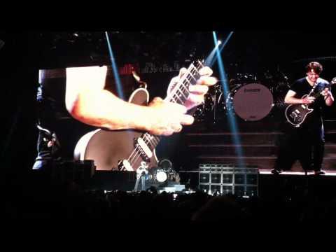 Eddie Van Halen and his Wolfgang guitar