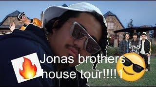 JONAS BROTHERS HOUSE TOUR