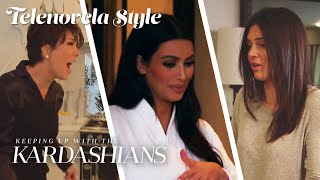 Kendall Not Cleaning Up After Her Dog Torments Kris & Kim | KUWTK Telenovelas | E!
