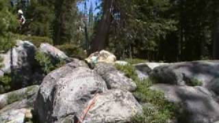 Cody Webb at Donner Classic Trial 7-4-10