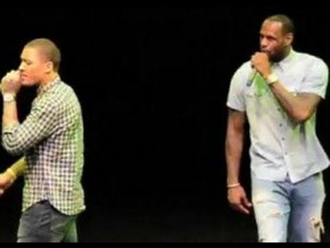 LeBron James Raps Juvenile's