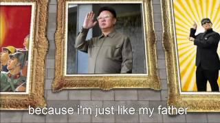 Kim Jong style (WITH LYRICS) - Kim Jong gangnam style parody