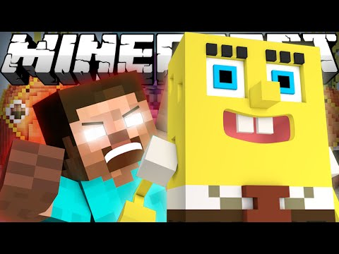 If Herobrine Met Spongebob - Minecraft video