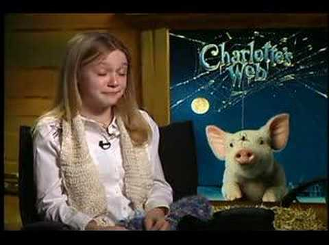 Charlottes Web Dakota Fanning interview